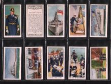 Cigarette cards Interesting customs Navy Army Airforce